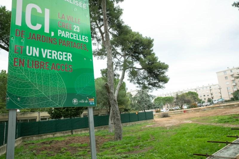 Sète : un nouveau jardin collectif à proximité de l'école Eugénie Cotton