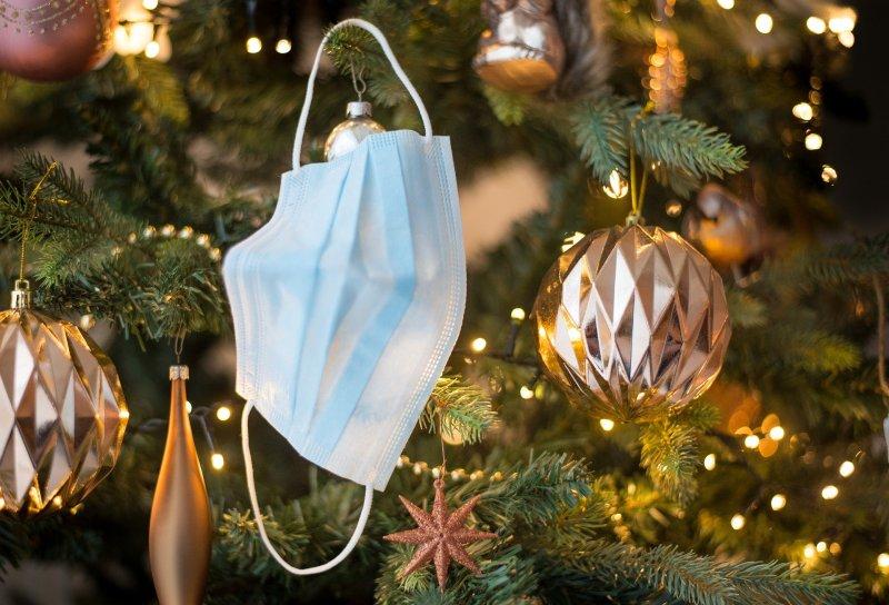 COVID Masque Fêtes Noël