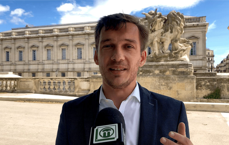 Julien Miro, Montpellier mai 2021 ©LMI