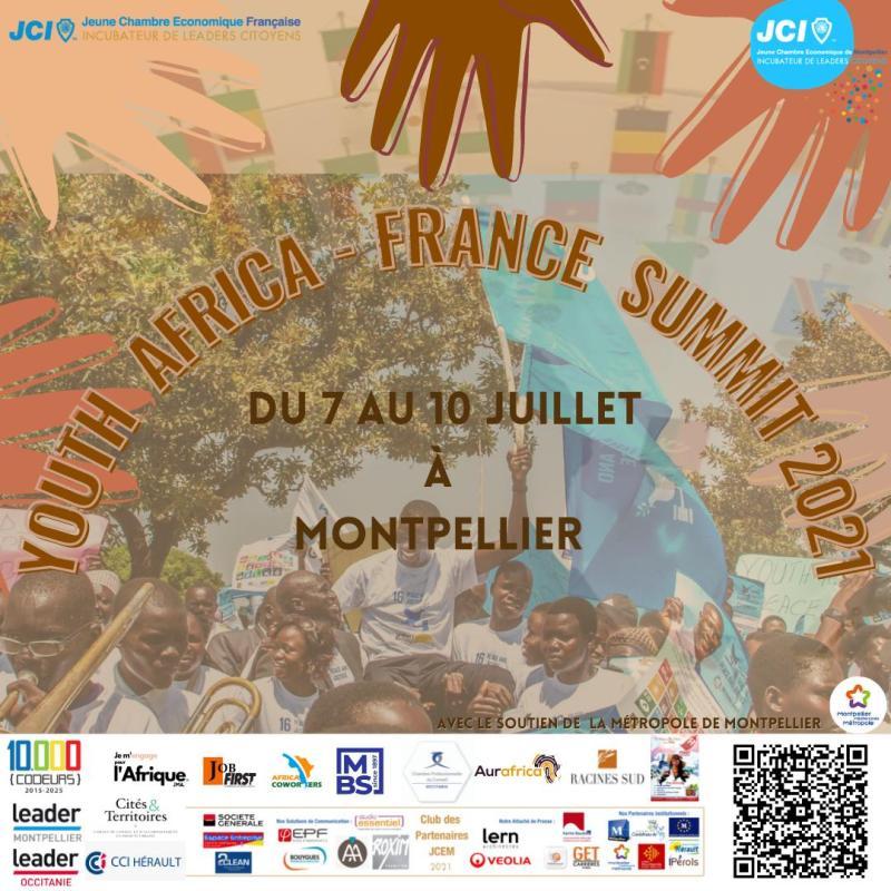 Youth Africa France Summit investit Montpellier les 7 et 9 juillet