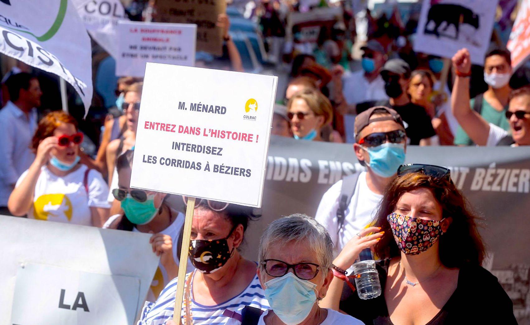 Marche Anti Corrida Beziers (©Tiziana)