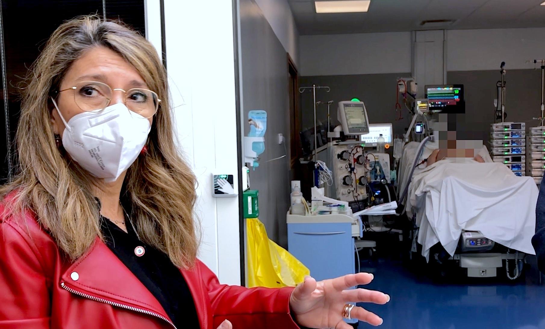 """Montpellier Patricia Mirallès, clinique Saint-Jean : prochaine ouverture d'un service dédié au """"Covid long"""" (©JPV)"""