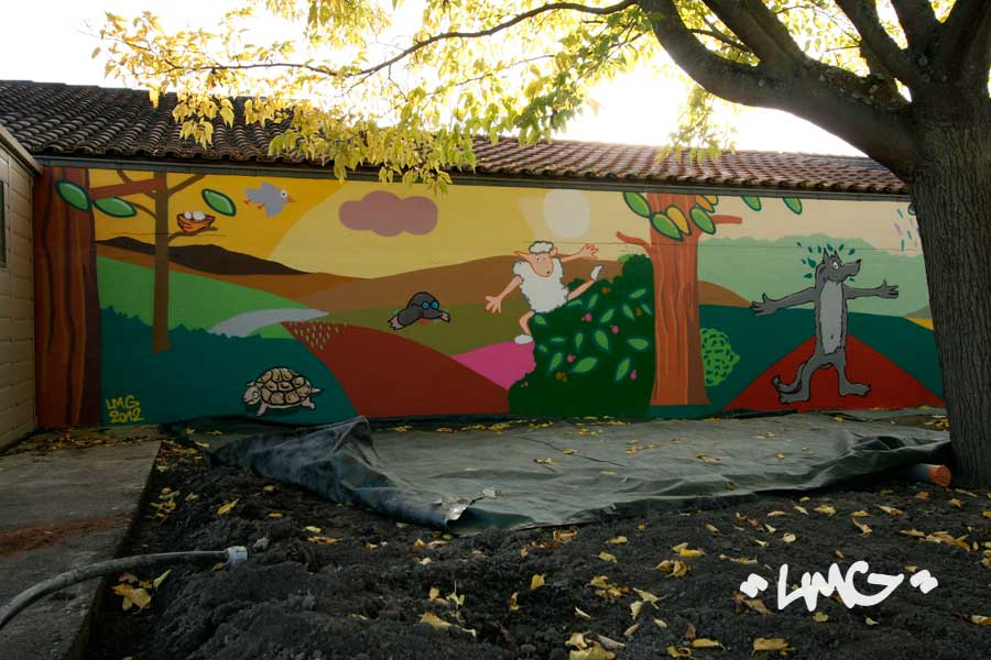 Dcorations Mur Extrieur Faade Graffiti Artiste