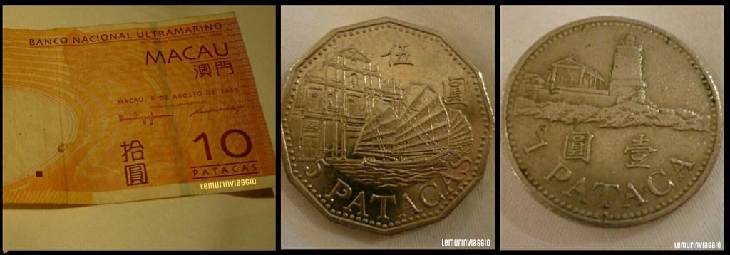 A Macao la moneta corrente è la patacca