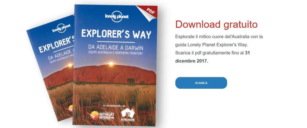 Gratis Lonely Planet da Adelaide a Darwin