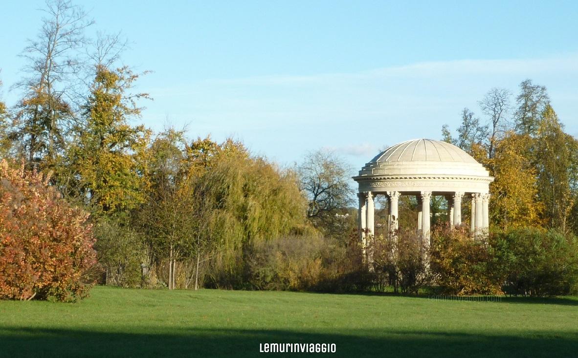 Tempio dell'amore alla Reggia di Versailles Petit Trianon