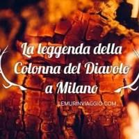 La leggenda della Colonna del Diavolo, a Milano