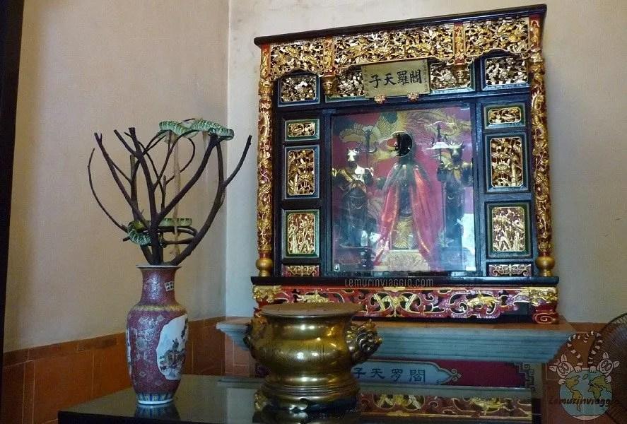 Snake Temple - Tempio dei serpenti a Penang Malesia