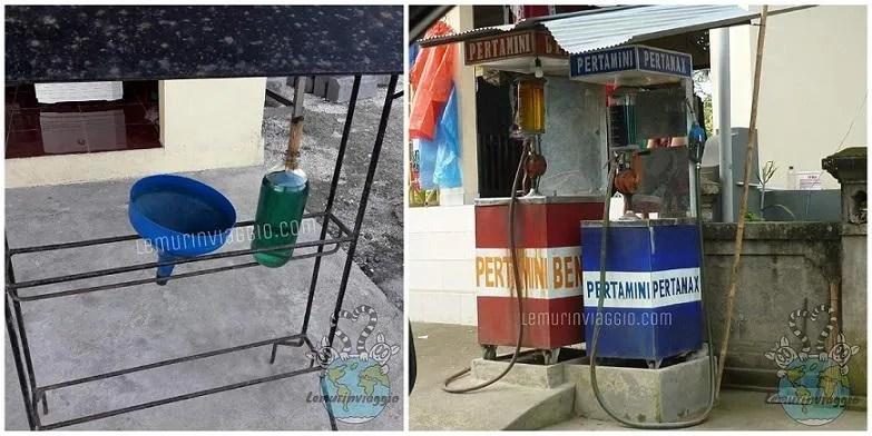 Benzina in bottiglia Indonesia