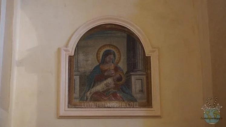 Madonna che allatta Chiesa di San Marco Montecassiano