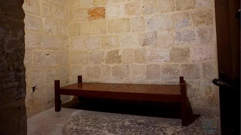 Prigioni nel Palazzo dell'Inquisitore di Malta