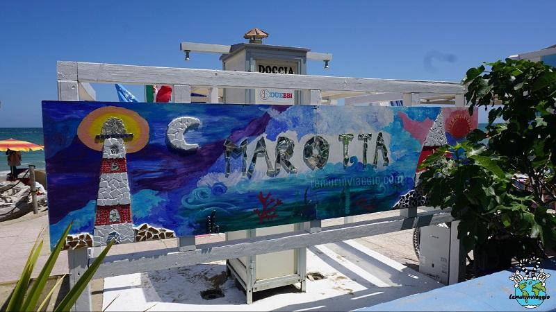 Mosaico a tema mare sul lungomare di Marotta