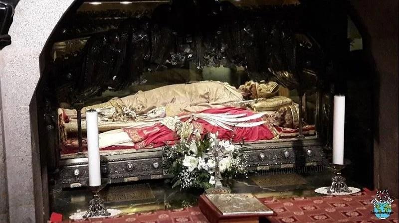 Cripta nella basilica di Sant'Ambrogio