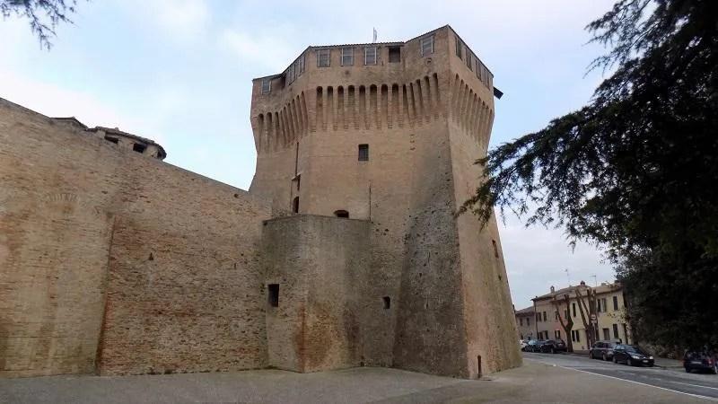 Rocca Roveresca nel ducato d'Urbino a Mondavio nelle Marche