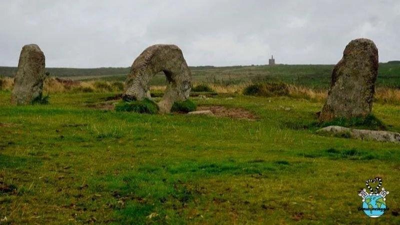 Men an Tol è un sito megalitico in Cornovaglia UK