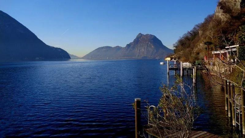 La leggenda del lago Ceresio narra di Ceresio il signore del lago e un pesce gigante senza nome