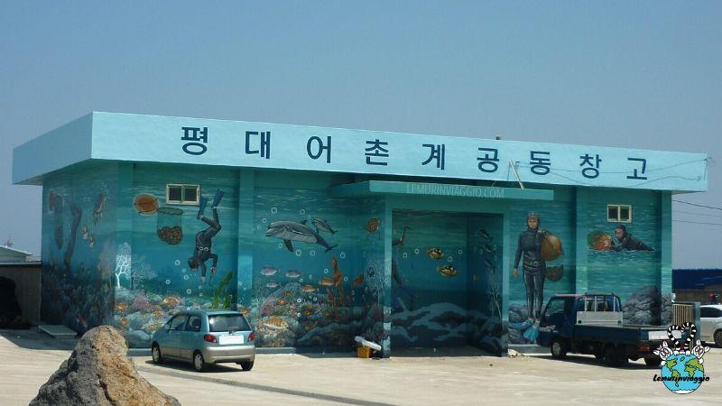 street art in Corea del Sud le sirene di Jeju