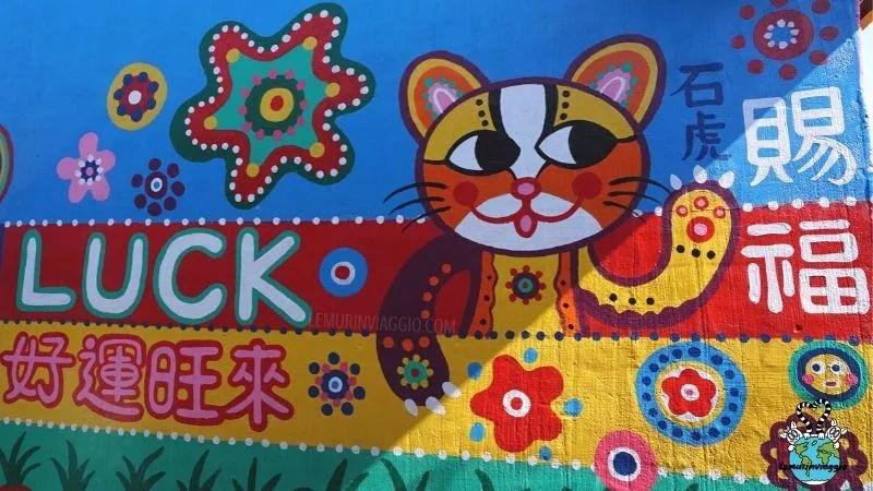 Street art a Taichung Taiwan