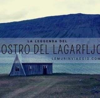 il drago del lago Lögurinn in Islanda