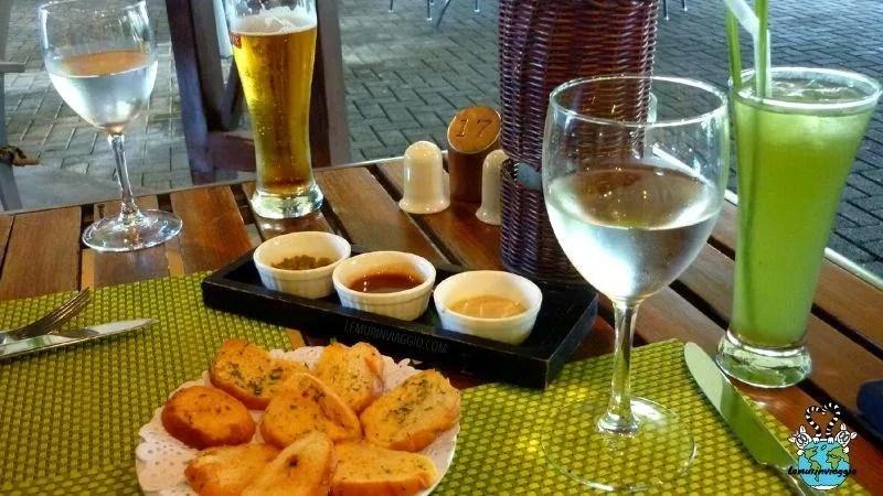 ristorante Le Fangourin nel complesso dell'Aventure du Sucre di Mauritius