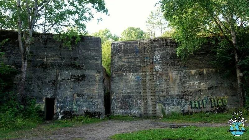 Tana del lupo in Polonia il quartier generale di Hitler a Ketrzyn