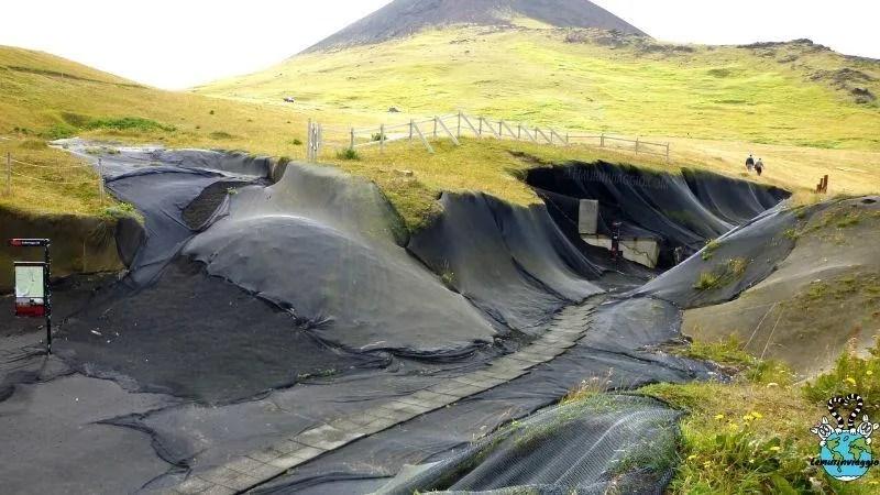 Heimaey la città sommersa dalle ceneri vulcaniche islandesi