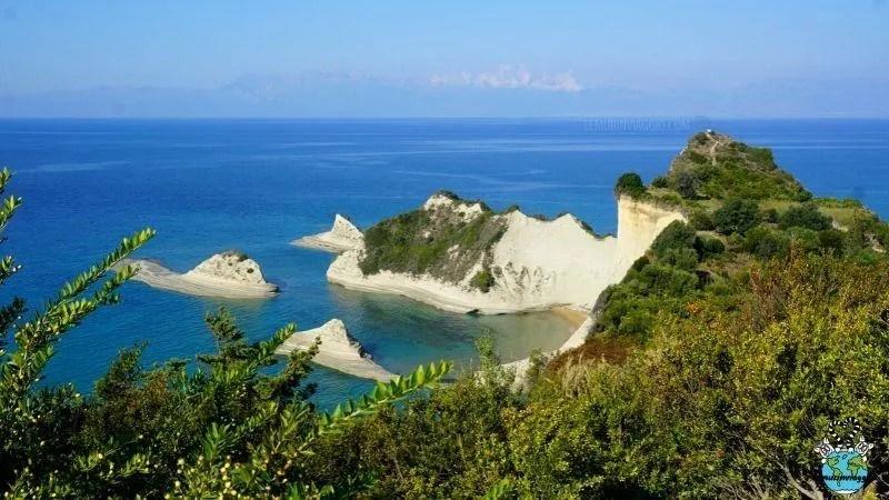 i panorami più belli da vedere nel nord di Corfù