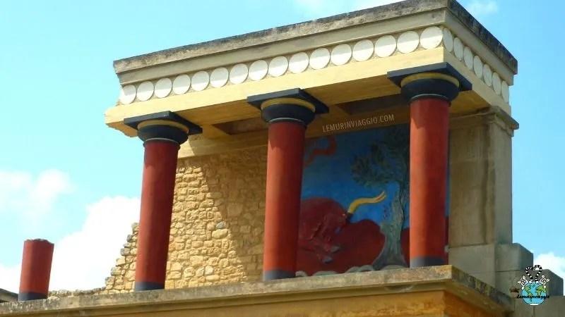 Minotauro al palazzo di Cnosso
