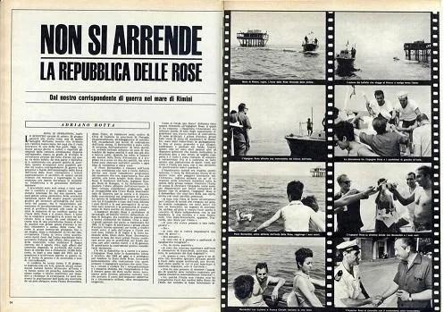isola delle rose articoli di giornale