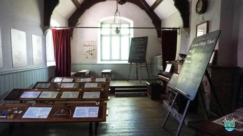 la scuola di Tyneham restaurata