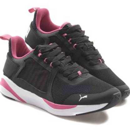 tenis puma preto e rosa feminino