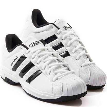 tenis adidas pro molde 2g branco