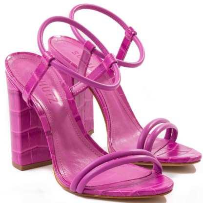 sandalia schutz rosa pink