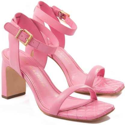 sandalia jorge bischoff rosa feminina