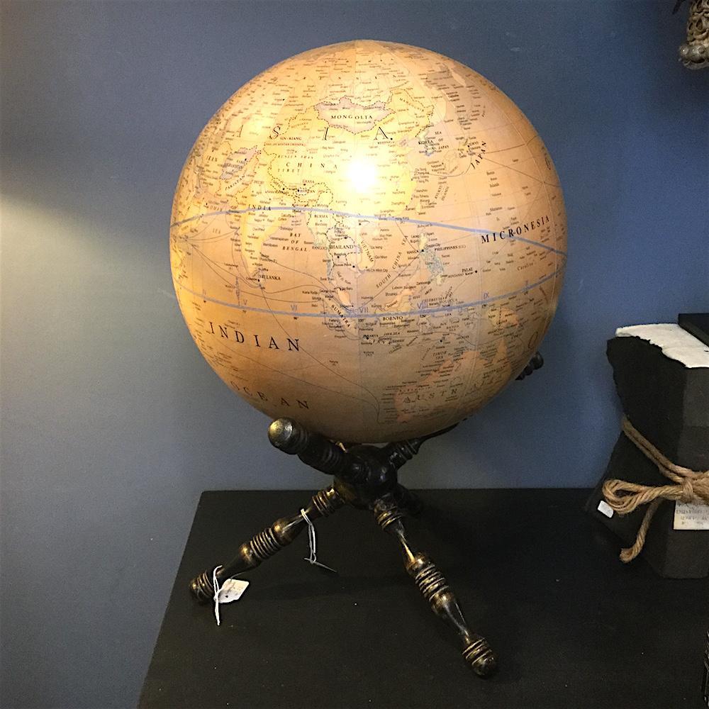 mappamondo medio