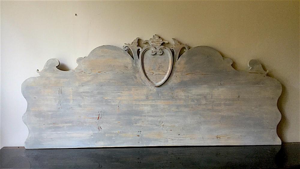 Testate Letto Antiche.Testata Letto Antica In Legno Intagliato Le Muse Di Francesca