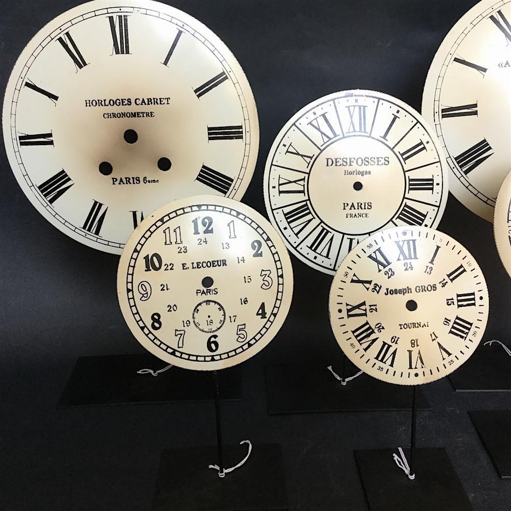 quadrante orologi su piedistallo