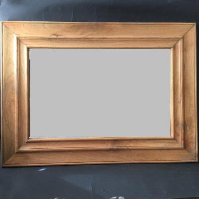 specchio legno naturale