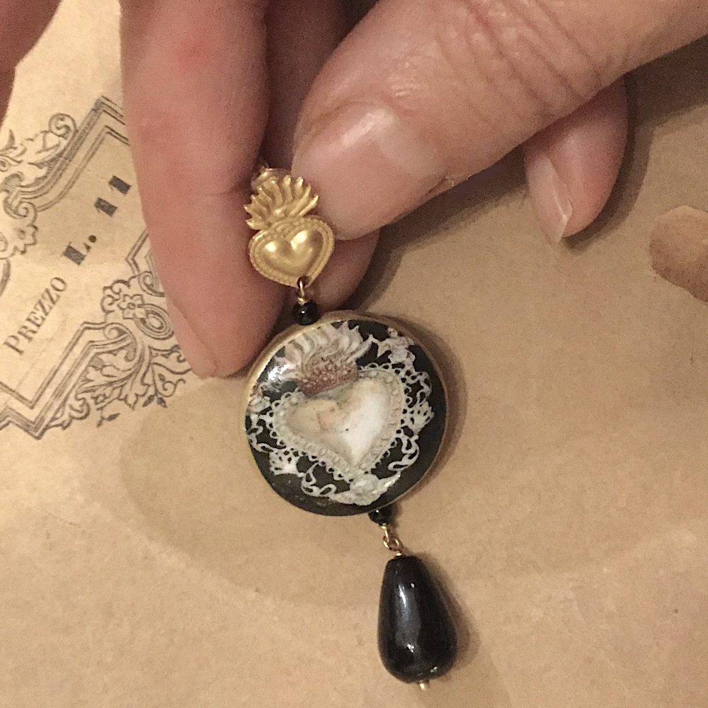 orecchini cuore chherubini2