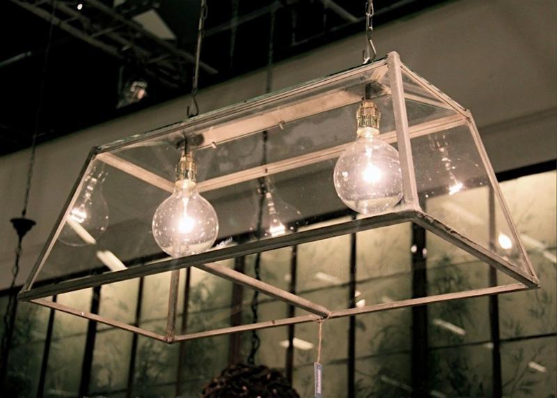 lampadario serra doppio