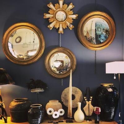 specchi convessi oro