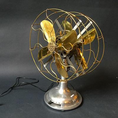 ventilatore vintage doppio