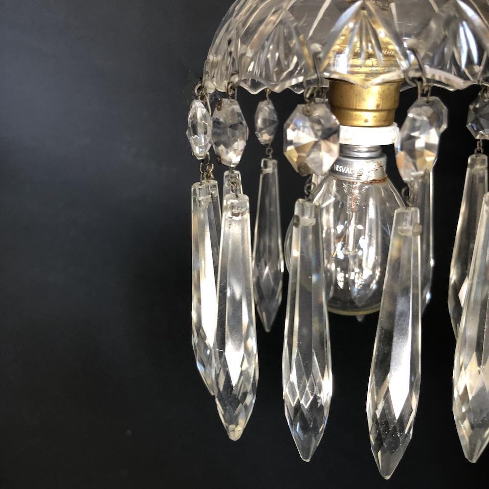 lampadario cristalli