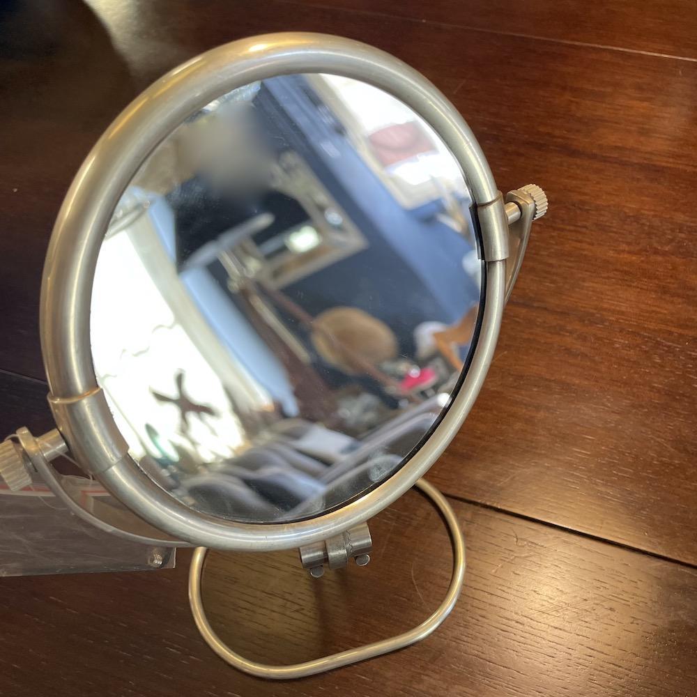 specchio concavo da appoggio