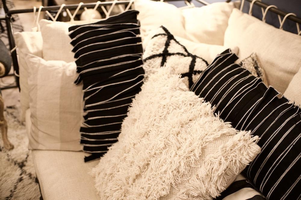 cuscini lana cotone