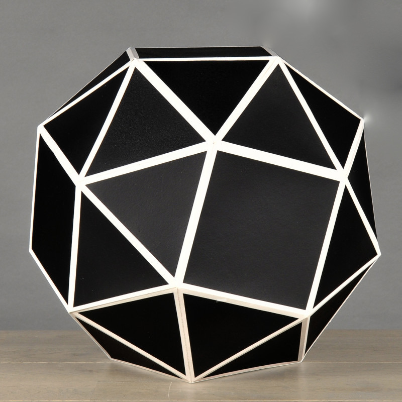 forma geometrica cartone