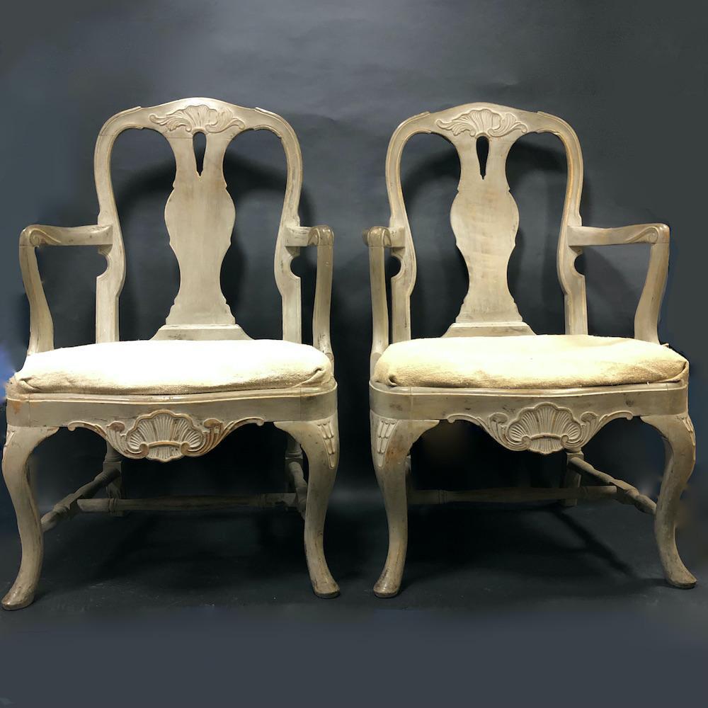 coppia sedie gustaviane braccioli