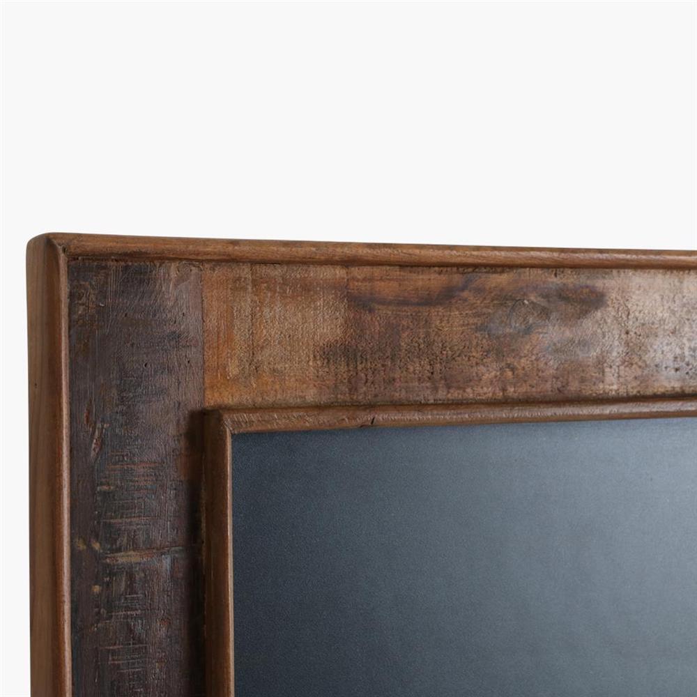 lavagna cornice legno