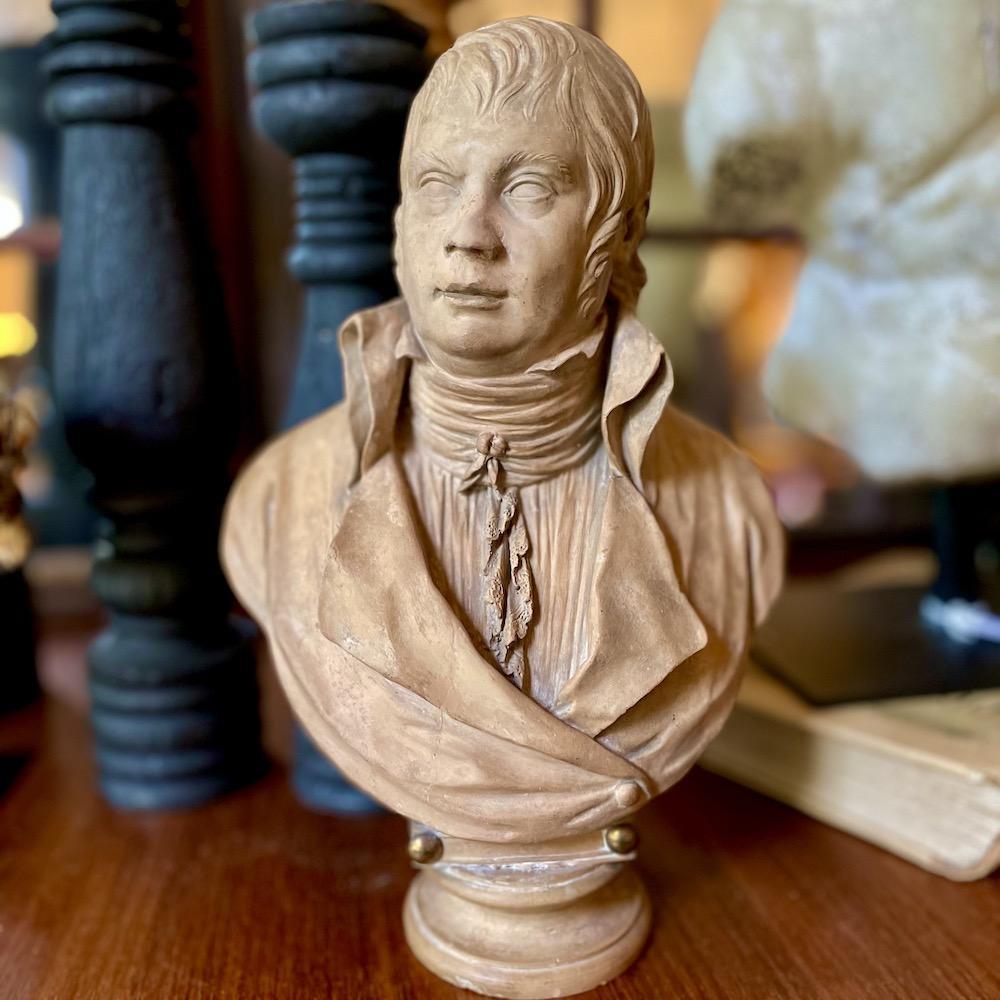 scultura terracotta maschile