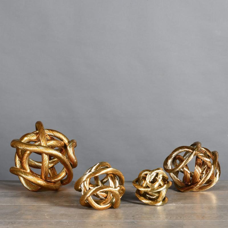sculture nodo metallo